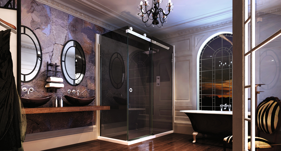 series_10_Sliding Door with Side panel in smoked black glass.jpg